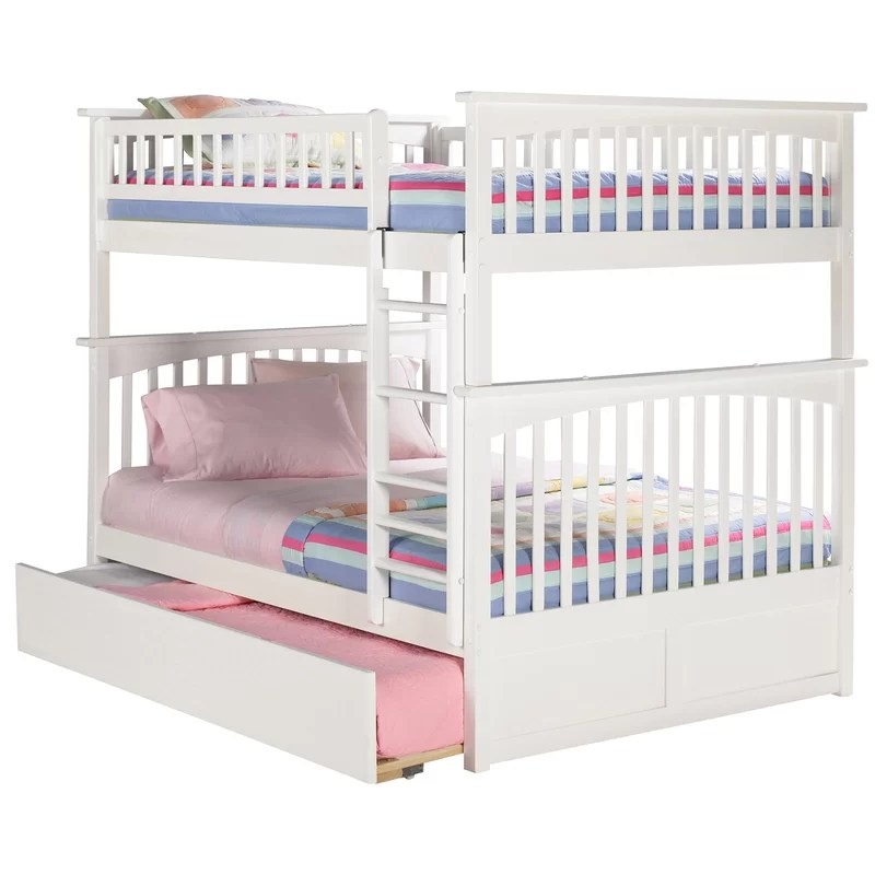 Bunk Bed With Stairs Twin Over Full
