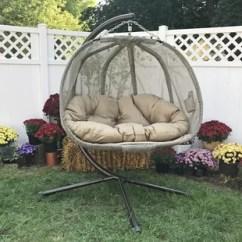 Egg Chair Outdoor Best Adirondack Swing Wayfair Quickview