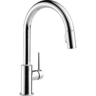 gooseneck high arc kitchen faucets