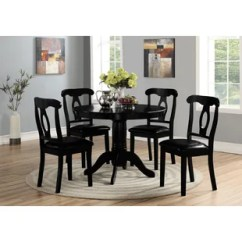 Black Dining Table And Chairs Graco High Chair Replacement Straps Felicia Set Wayfair Quickview