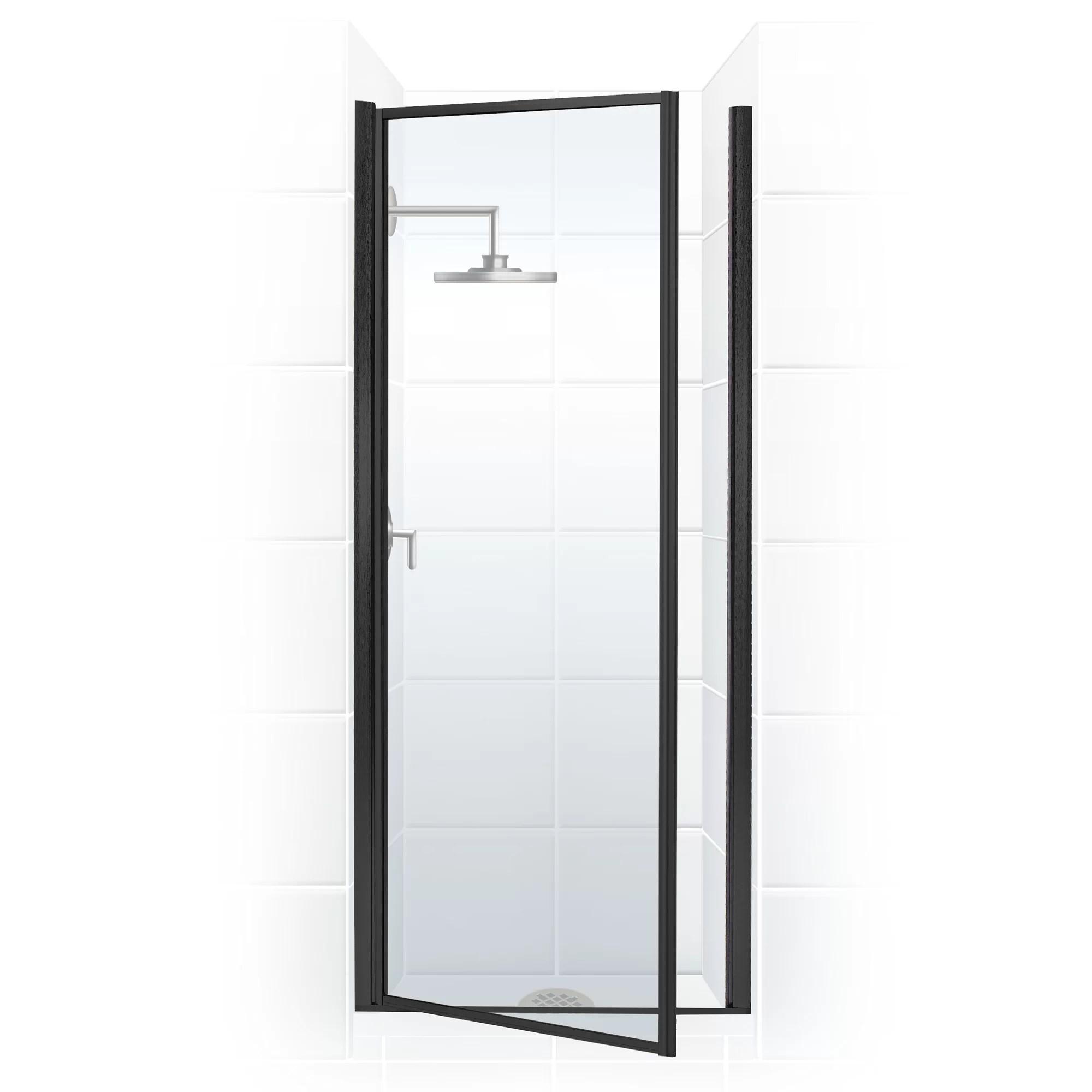 Legend Series 26 X 68 Hinged Framed Shower Door