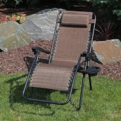 Xl Zero Gravity Chair With Canopy Sliding Pillow Folding Side Table Revolving Jodhpur Cup Holder Wayfair Quickview
