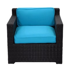1 Piece Patio Chair Cushions Frontgate Lounge Covers Northlight 3 Outdoor Furniture Set With