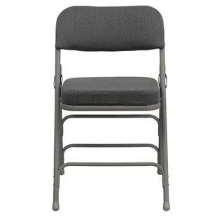 cushioned folding chairs hammock chair stand costco hercules padded wayfair quickview