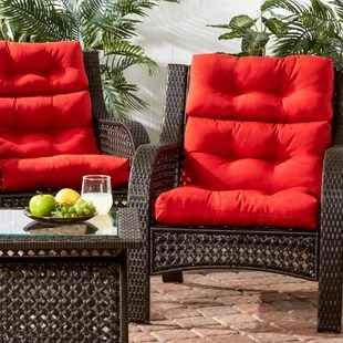 high back lawn chair cushions world market adirondack chairs reviews wayfair quickview