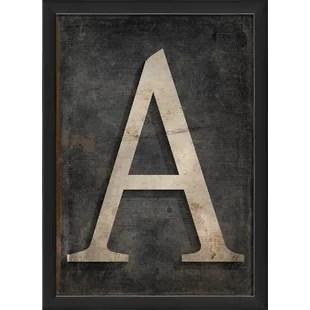 letter art framed flakkeeweer