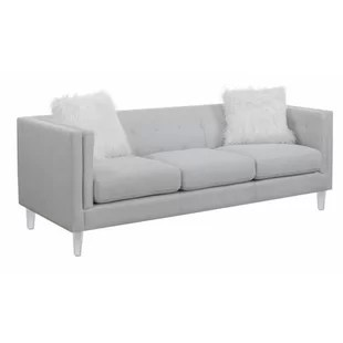 fuzzy sofa extra large arm covers couch wayfair huitt