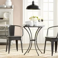 Rattan Table And Chairs Suvs With Second Row Captains Indoor Dining Room Sets Wayfair Triplehorn 3 Piece Metal Set