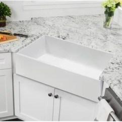 Farm Kitchen Sink Buy Table Cheap Farmhouse Sinks Wayfair Fireclay 30 L X 18 W