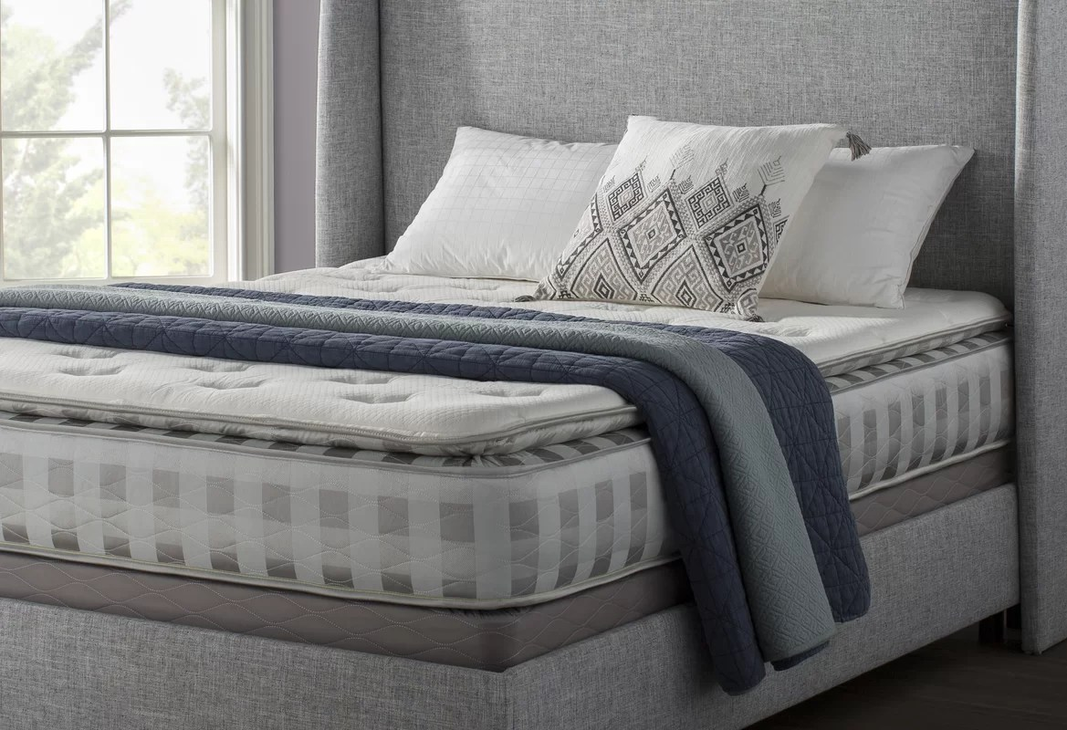 Mercury Row Alrai Upholstered Panel Bed & Reviews