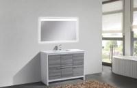 """Bosley 48"""" Single Sink Modern Bathroom Vanity & Reviews ..."""
