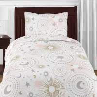 Celestial Comforter Set by Sweet Jojo Designs  Footstool