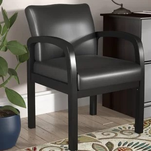 leather directors chair lego table with storage and chairs wayfair seales guest