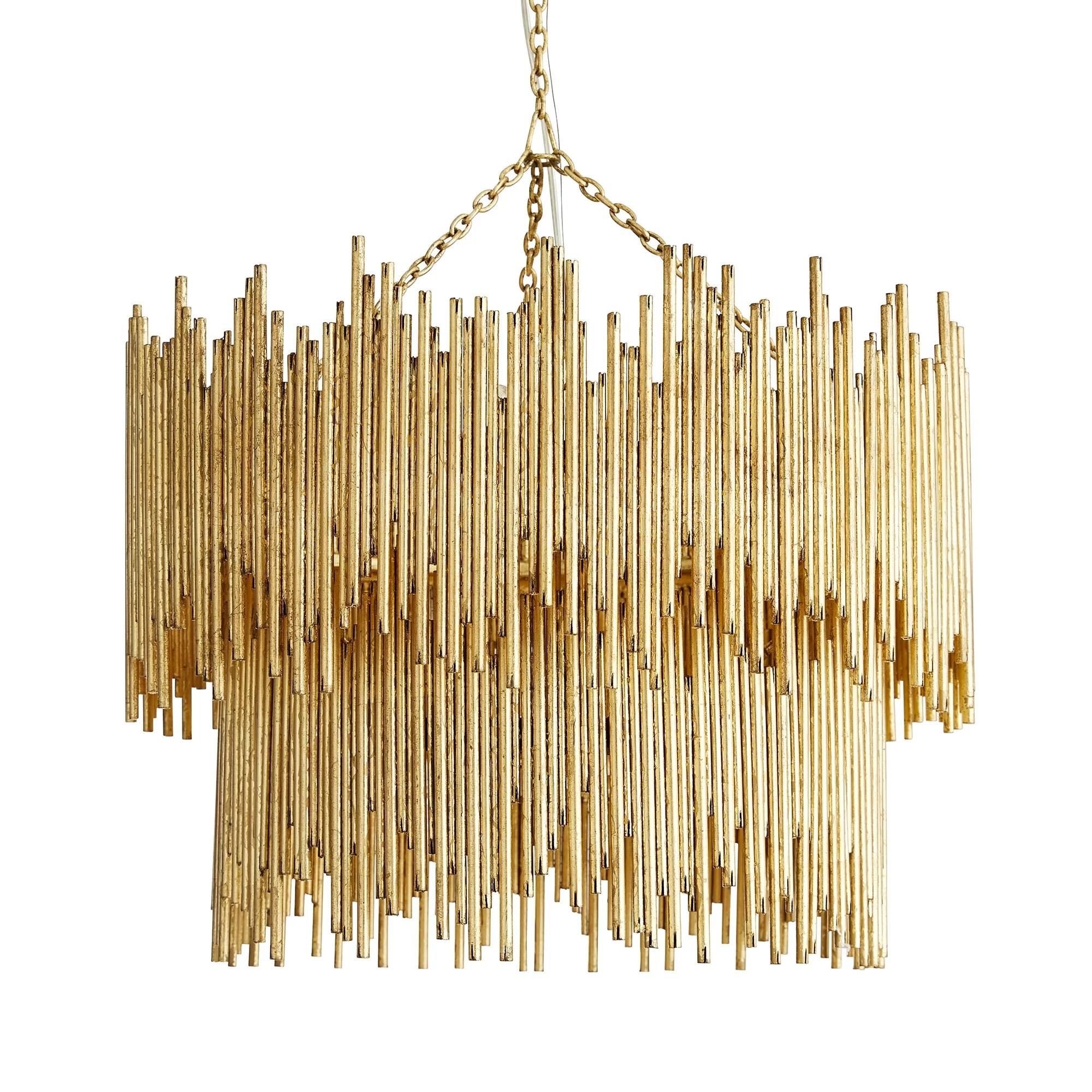prescott 8 light unique statement tiered chandelier