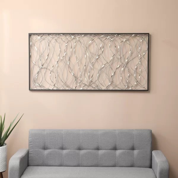 above bed wall decor
