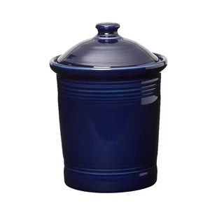 navy blue kitchen decor ikea pull out pantry wayfair canister