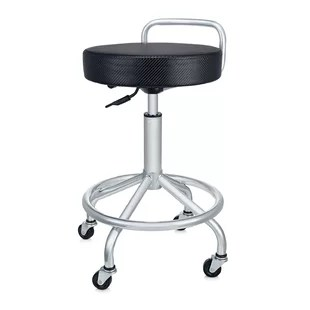 stool chair on wheels replacement straps for fisher price space saver high counter stools wayfair adjustable height swivel bar