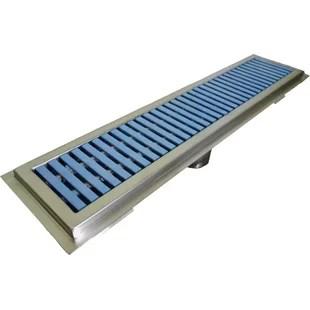 Floor Water Receptacle 4 Grid Shower Drain