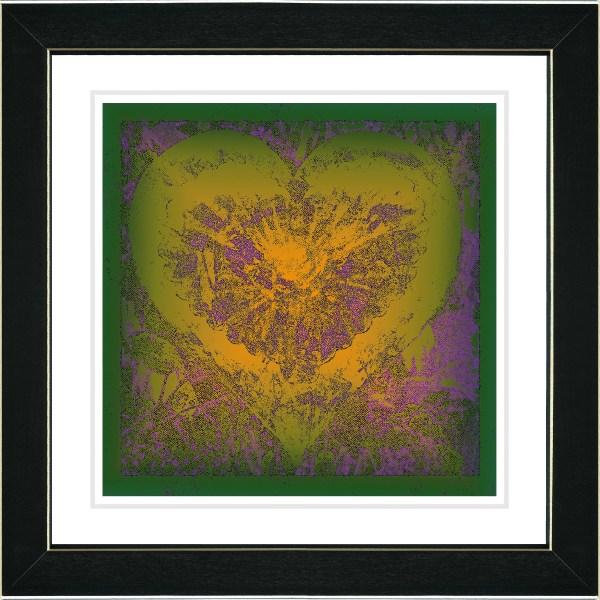 "Studio Works Modern ""gold Filigree Heart"" Zhee Singer"