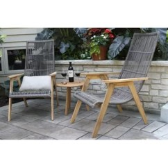 C Spring Patio Chairs Beach Towel Clips For Chair Wayfair Kennebunkport Teak With Cushions Set Of 2