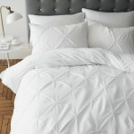 Pinch Pleat Duvet Cover Set Duvet Covers Bedding Sets Home Garden