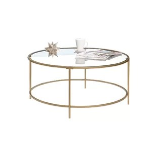 modern gold coffee tables
