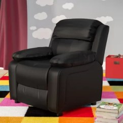 Kids Recliner Chair Ijoy 100 Massage 7 To 8 Year Old Toddler Chairs Seating You Ll Love Wayfair Quickview