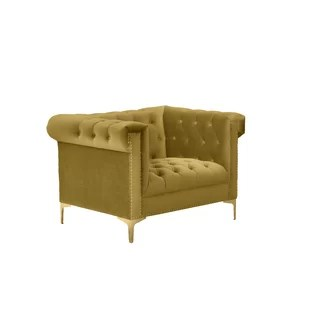 tufted yellow chair office mat for high pile carpet wayfair batts armchair