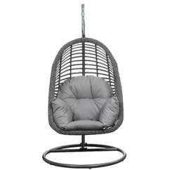 Hanging Chair Stand White Slipcover And Ottoman Outdoor Wayfair Pothier Basket Spuncrylic Swing With