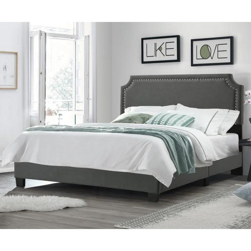 Fredson Upholstered Platform Bed