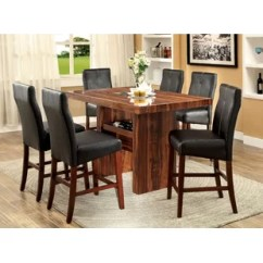 Table And 6 Chairs Hairdressing Canada Pub With Wayfair Carroll 7 Piece Counter Height Set