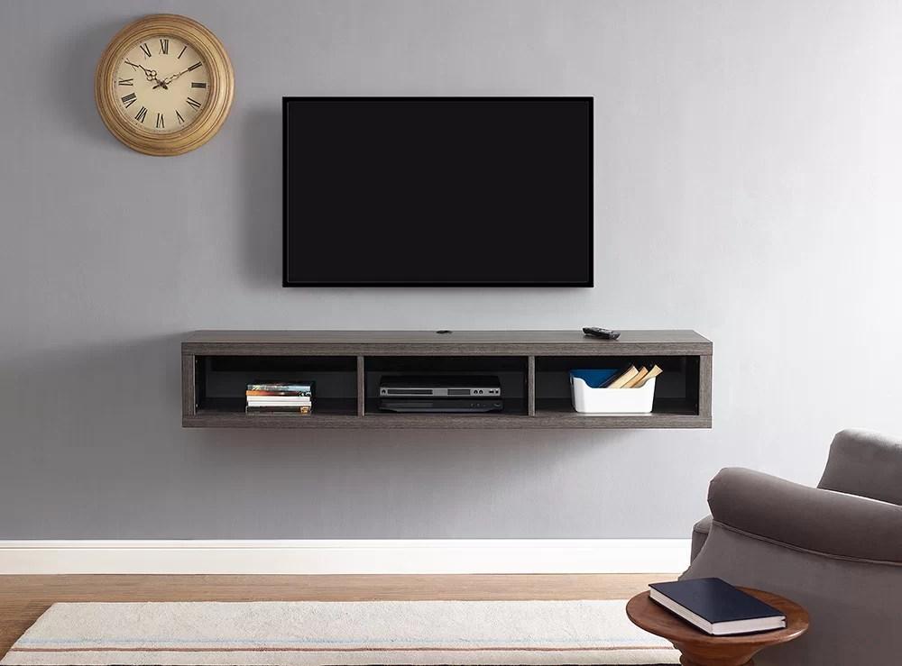 "Martin Home Furnishings 60"" Shallow Wall Mounted TV"
