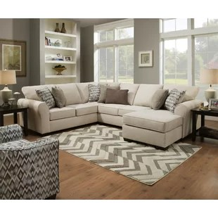 big living room couches ceiling tiles large sofa with chaise wayfair herdon sleeper sectional