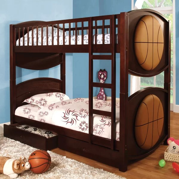 Anthony Twin Bunk Bed With Storage By Zoomie Kids