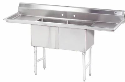 Free Standing Service Sink Size: 43 H x 72 W x 24 D
