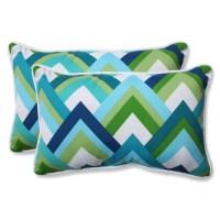 Pillow Perfect Indoor/Outdoor Lumbar Pillow & Reviews ...