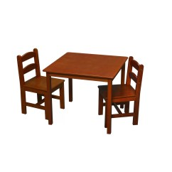 Kids Chair Set Tall Wooden Chairs Gift Mark 39 3 Piece Writing Table And