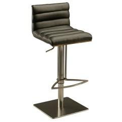 Stool Chair Dubai Iconic Leather Impacterra Adjustable Height Swivel Bar