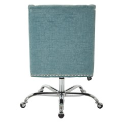 Bassett Office Chair Acrylic Clear Inspired By Alyson Mid Back Desk And Reviews