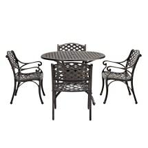 Cast Aluminum Patio Dining Table Round