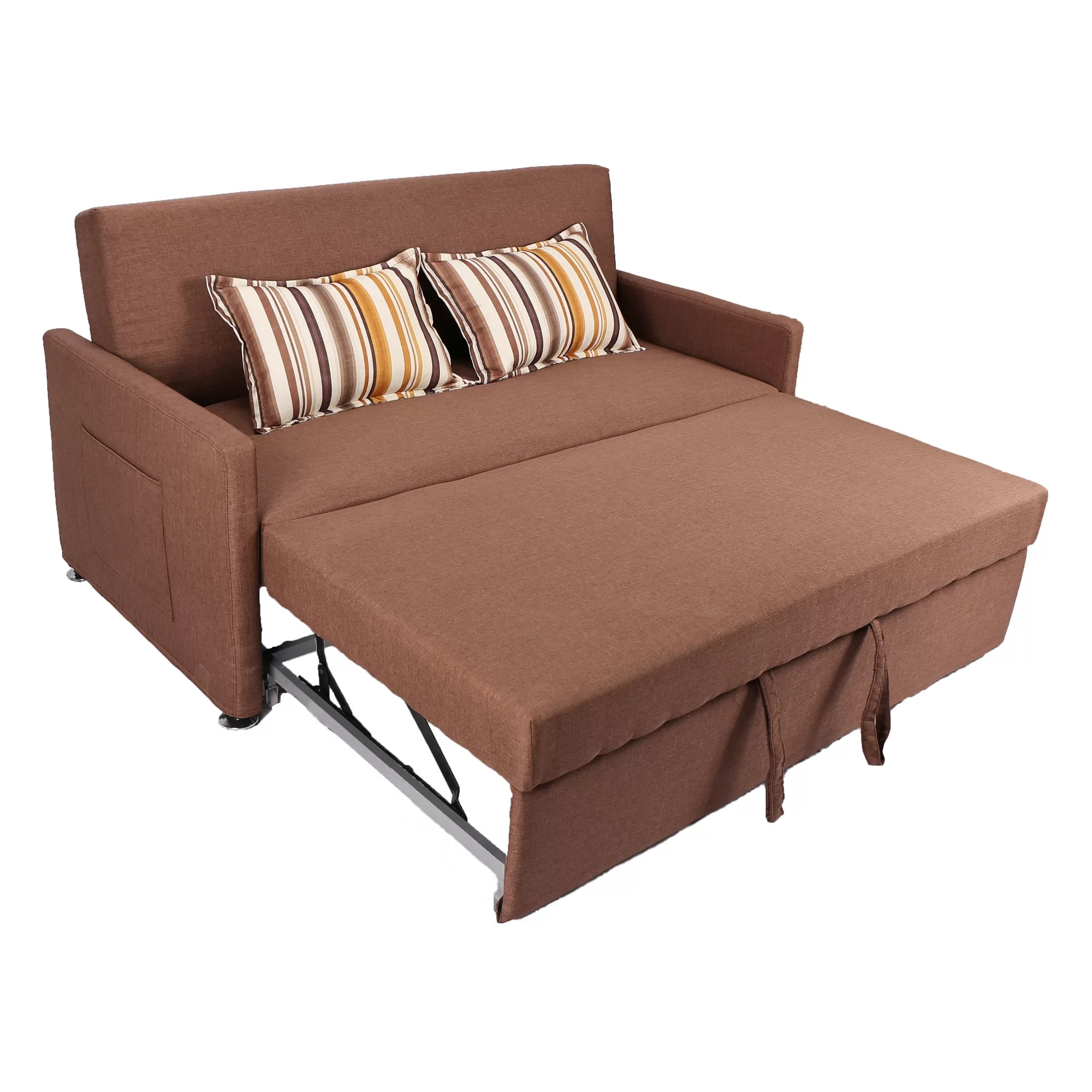 twin pull out sleeper chair best for elderly latitude run corvallis sofa and reviews