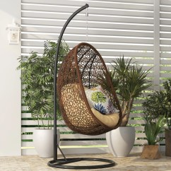 Swing Chair Toronto Folding Shower Bay Isle Home Tortola With Stand And Reviews