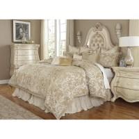 Michael Amini Luxembourg 12 Piece Queen Comforter Set ...