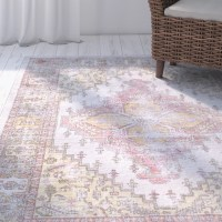 Stefan Pink/Green Area Rug & Reviews