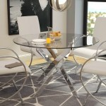 Glass Round Kitchen Dining Tables You Ll Love In 2020 Wayfair
