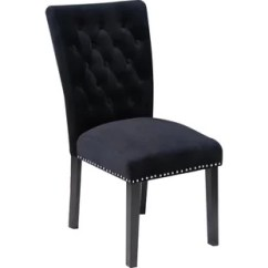 Black Velvet Chair Trendy Accent Chairs Uk Tufted Wayfair Quickview