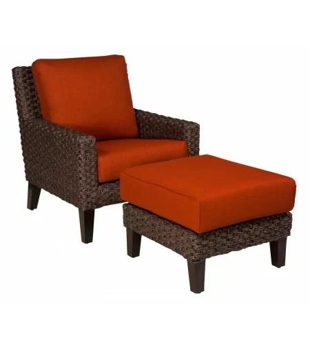 mona patio chair with ottoman
