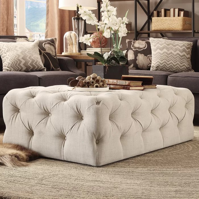 bourges cocktail ottoman