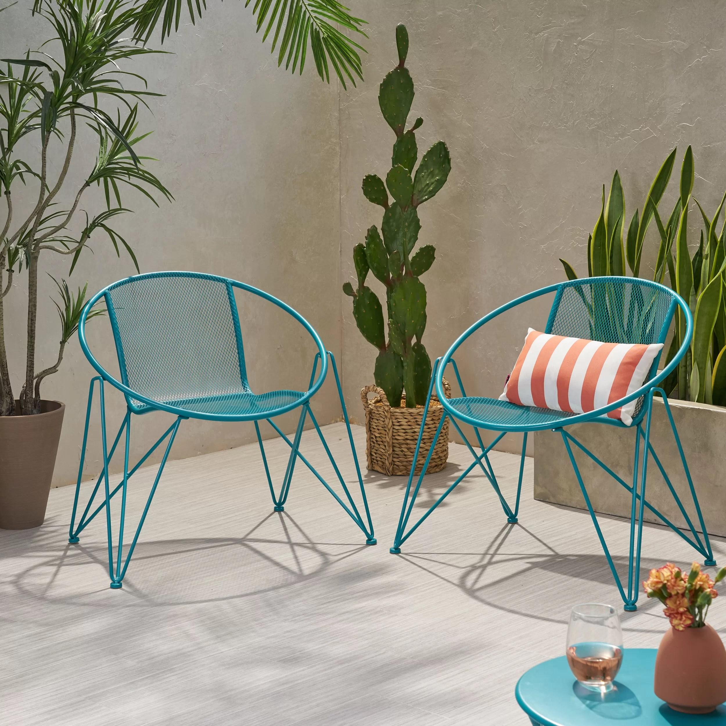 mowery modern outdoor patio chair