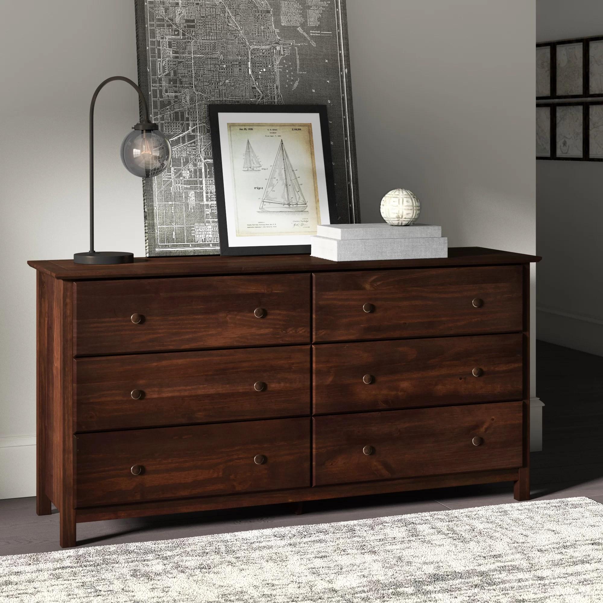 espresso wood dressers chests you ll